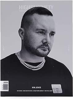 Highsnobiety Magazine Isssue 17 Fall Winter 2018 Cover :- Kim Jones + Magazine Cafe Bookmark