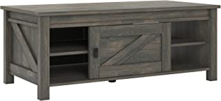 Ameriwood Home Farmington Coffee Table, Rustic Brown