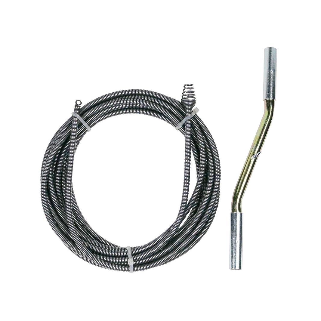 過言テラス生じるカクダイ パイプクリーナー 排水管洗浄用 長さ 7.5m 605-010-7.5