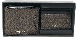 Michael Kors Men's Camden Gifting Bifold Wallet & Card Case, Leather (Brown)