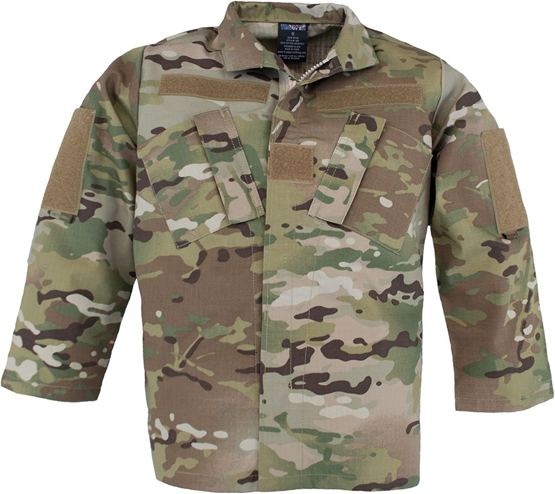 Trooper Clothing Kids Multicam Uniform Jacket