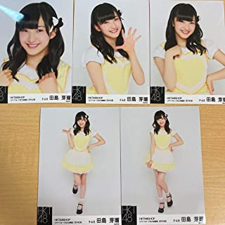 HKT48 田島芽瑠 生写真 HKT SHOP リバーウォーク北九州 限定 2014.08 5枚 コンプ セット AKB48生写真(月別...