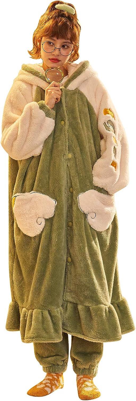 Seasonal Wrap Introduction YAOMEI Unsex Mens Womens Dressing Gown Nightwear Bathrobe Hooded Super sale