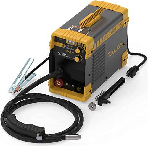 discount TOOLIOM outlet online sale 135A MIG Welder 110V outlet online sale Flux MIG/Lift TIG/Stick 3-in-1 Weding Machine IGBT DC Inverter online