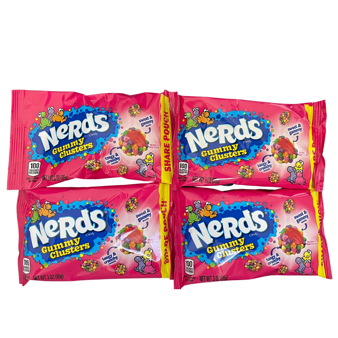 Nerds Gummy Clusters Discount mail order Share Pouch 3 4 New products, world's highest quality popular! of Candy Pack oz Chewy