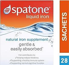 Spatone Natural Liquid Iron Supplement Original, 28 Sachets x 25 ml