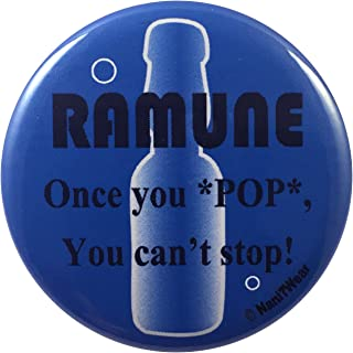 NaniWear 2.25 Inch Geek Anime Convention Button Ramune Once You Pop