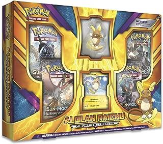Pokemon Alolan Raichu Figure Collection Box
