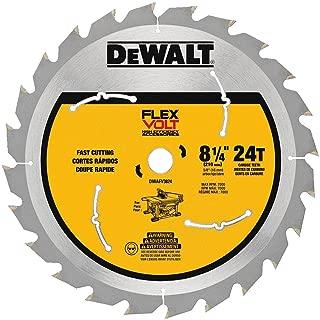 DEWALT DWAFV3824 Flexvolt 24T Table Saw Blade, 8-1/4