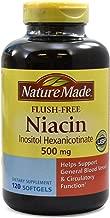 Nature Made Flush-Free Niacin 500 mg 120 ct