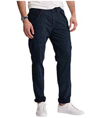 Polo Ralph Lauren Big & Tall Big Tall Classic Fit Cargo Pants (Aviator Navy) Men
