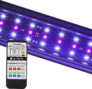 VivaGrow DN DayNight RGB 24/7 Customize Automation Full Spectrum LED Aquarium Fish Tank..