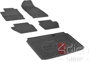 Passgenaue Kofferraumwanne und Gummifußmatten geeignet für Ford EcoSport ab 2018 - EIN Satz