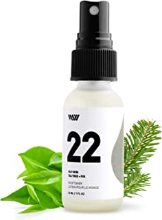 22 Oily Skin Face Toner, Natural Face Toner for Acne and Hydration, Vitamin C Pore Reducing Toner, Paraben Free (Tea Tree and Fir) - Way of Will