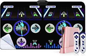 Dansende Stap Pad, Draadloze Double Dance Deken Somatosensorische Game Machine Dance Mat (Color : 30mm b)