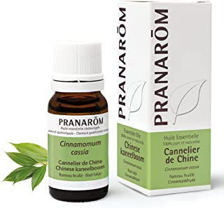 Pranarôm | Huile Essentielle Cannelier de Chine | Cinnamomum cassia | Rameau Feuillé | HECT | 10 ml