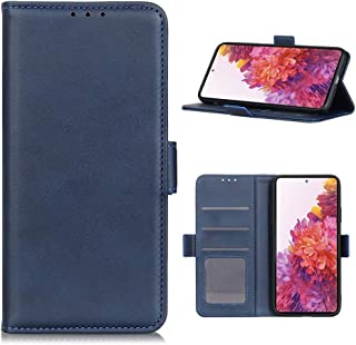 Hongxinyu Galaxy S20 FE 5G Case, Wallet Folio Flip PU Leather Magnetic Buckle Slim Back Cover Built-in Card Holder Slot an...