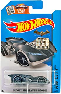 Hot Wheels, 2015 HW City, Batman Arkham Asylum Batmobile #64/250