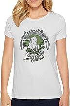 Women My Flocking Birthday Flamingo T-Shirt Slim-Fit Knit Funny Ball T-Shirt