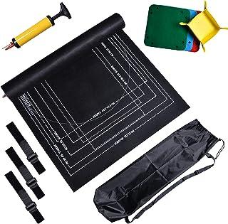 Puzzle Mat Roll Up, Deluxe Edition Juego de almacenamiento de rompecabezas CHIVENIDO para almacenar hasta 2000 piezas, tap...
