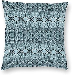 SedExd taie d'oreiller de Voiture carrée décorative pour canapé-lit Bar Club Bar Chat 45 x 45 cm,Cime des Arbres araignées...