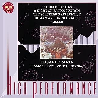 Tchaikovsky: Capriccio Italien / Mussorgsky: A Night on Bald Mountain / Dukas: The Sorcerer's Apprentice / Enescu: Romanian Rhapsody / Ravel: Bolero