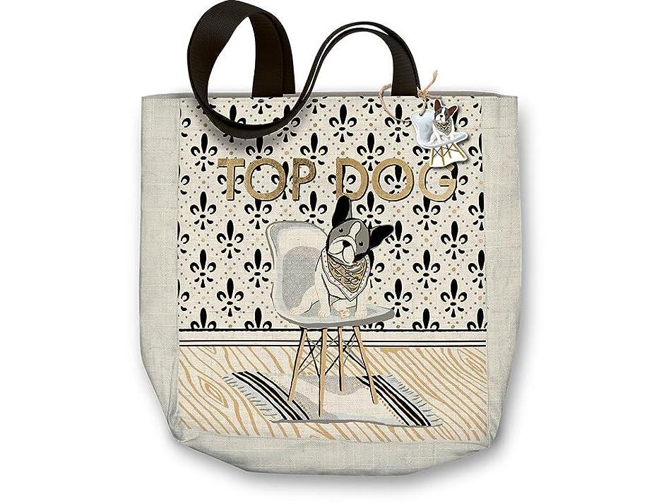 Molly & Rex Canvas Tote Bag 15x16 Top Dog p2698242659