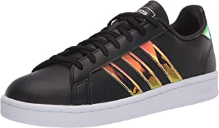 adidas Womens Grand Court Black Size: 5