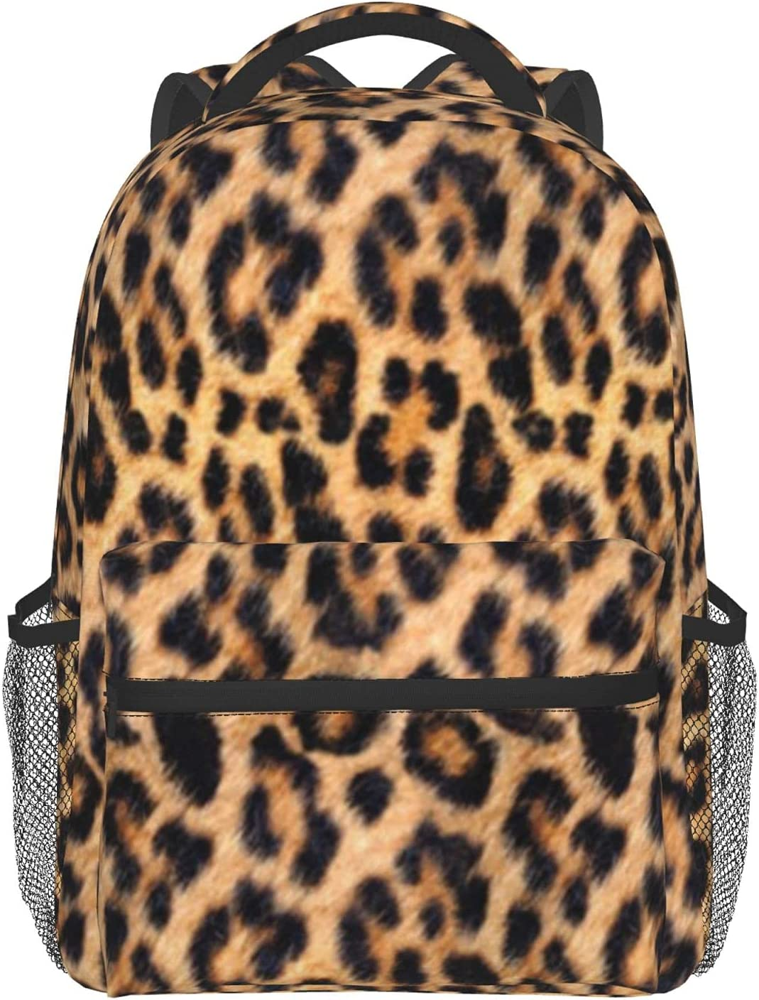 2021new shipping free CURANI Max 71% OFF Casual Backpack Leopard Print School 1 Laptop Bag Tra