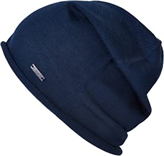 Silk Beanie Hat for Men and Women - Soft Slouchy Mens Beanie Cap Summer  Sensitive Skin 3c4ae95c16df
