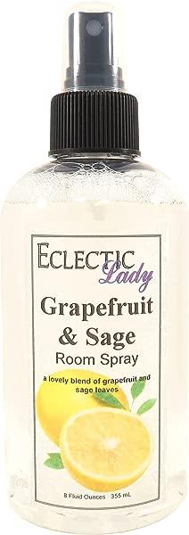 Grapefruit And Sage Room Spray 8 Ounces