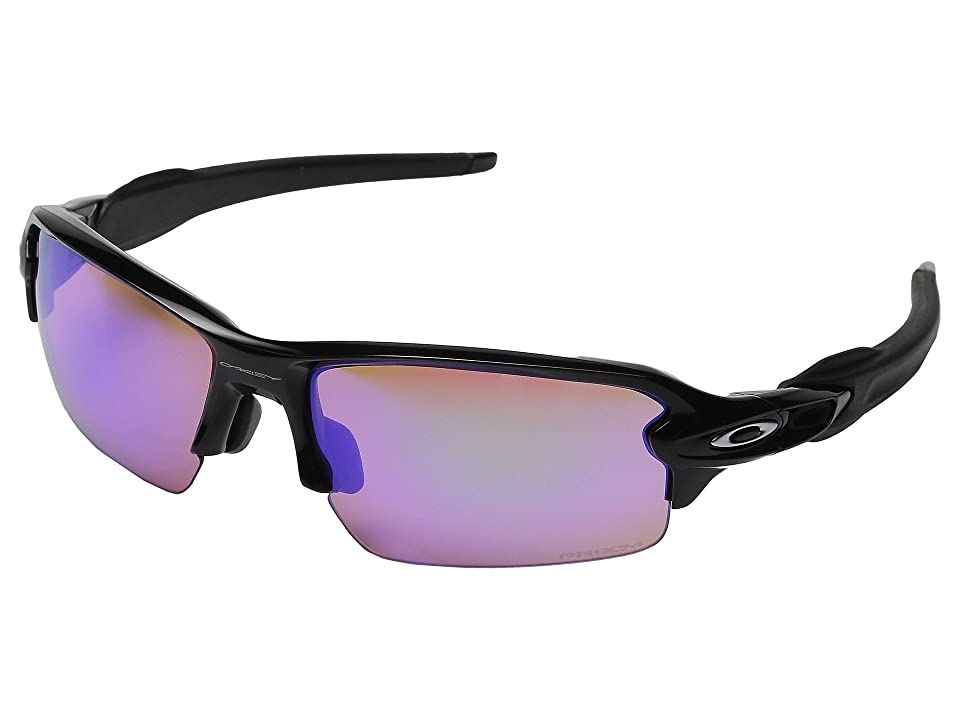 Oakley (A) Flak 2.0 (Polished Black/Prizm Golf) Sport Sunglasses