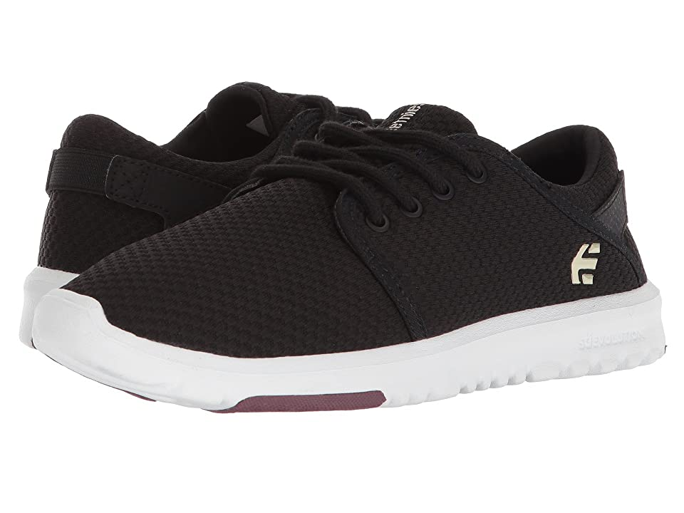 etnies Scout W (Black/White/Burgundy) Women