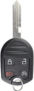 KeylessOption Keyless Entry Remote Fob Uncut Blank Ignition Car Key Remote Start for CWTWB1U793