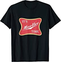 Anti Trump Campaign Tee It's Mueller Time T-Shirt Impeach T