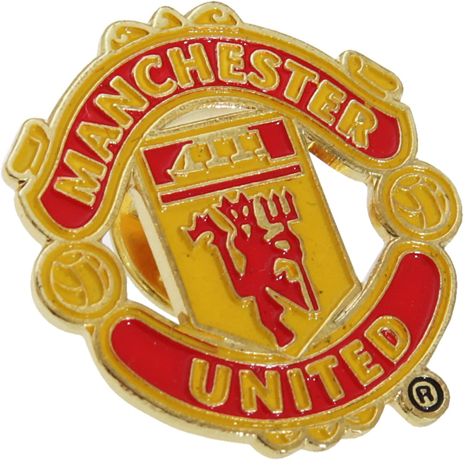 Manchester United FC Official Metal Badge Football Pin Quality 2021new shipping free shipping inspection Crest