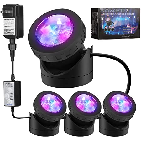 Led Ip68 Pond Light Swimming Pool Fish Tank Underwater Lights For Pools Install