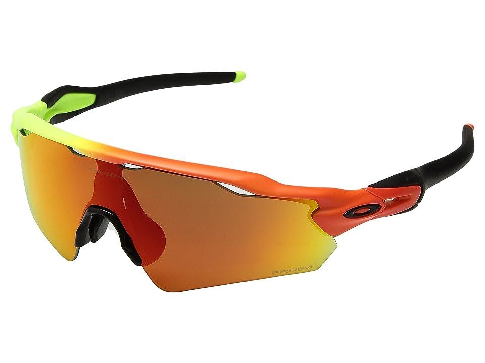 Oakley Radar EV Asian (Harmony Fade w/ Prizm Ruby) Sport Sunglasses