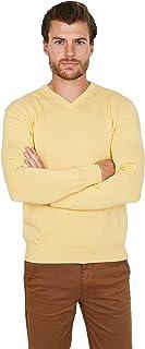 Jack Stuart - Maglia Uomo Scollo a V in Cotone