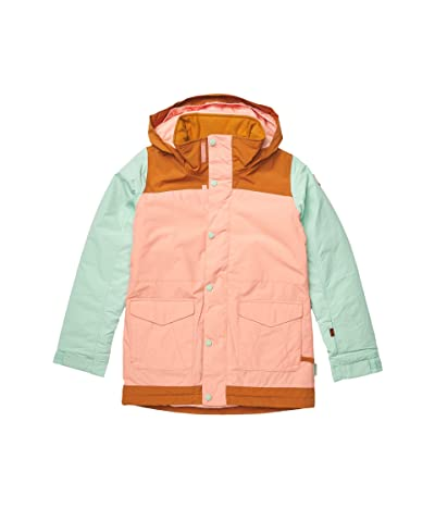 Burton Kids Elstar Parka Jacket (Little Kids/Big Kids) (Dahlia/Faded Jade) Girl