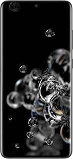Samsung Galaxy S20 Ultra 5G, Pro Grade Quad Camera, 100x Space Zoom, 8K Video, Dual SIM Smartphone, All Day Battery, KSA V...