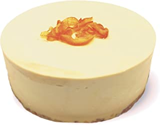 ISUPREME 低糖質 キャラメルチーズケーキ 【4号 2人~3人】100%自然素材の幸せクリーム グルテンフリー・人工甘味料不使用 (オレンジピール トッピング)