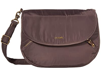 Pacsafe Stylesafe Anti-Theft Crossbody (Mocha) Handbags