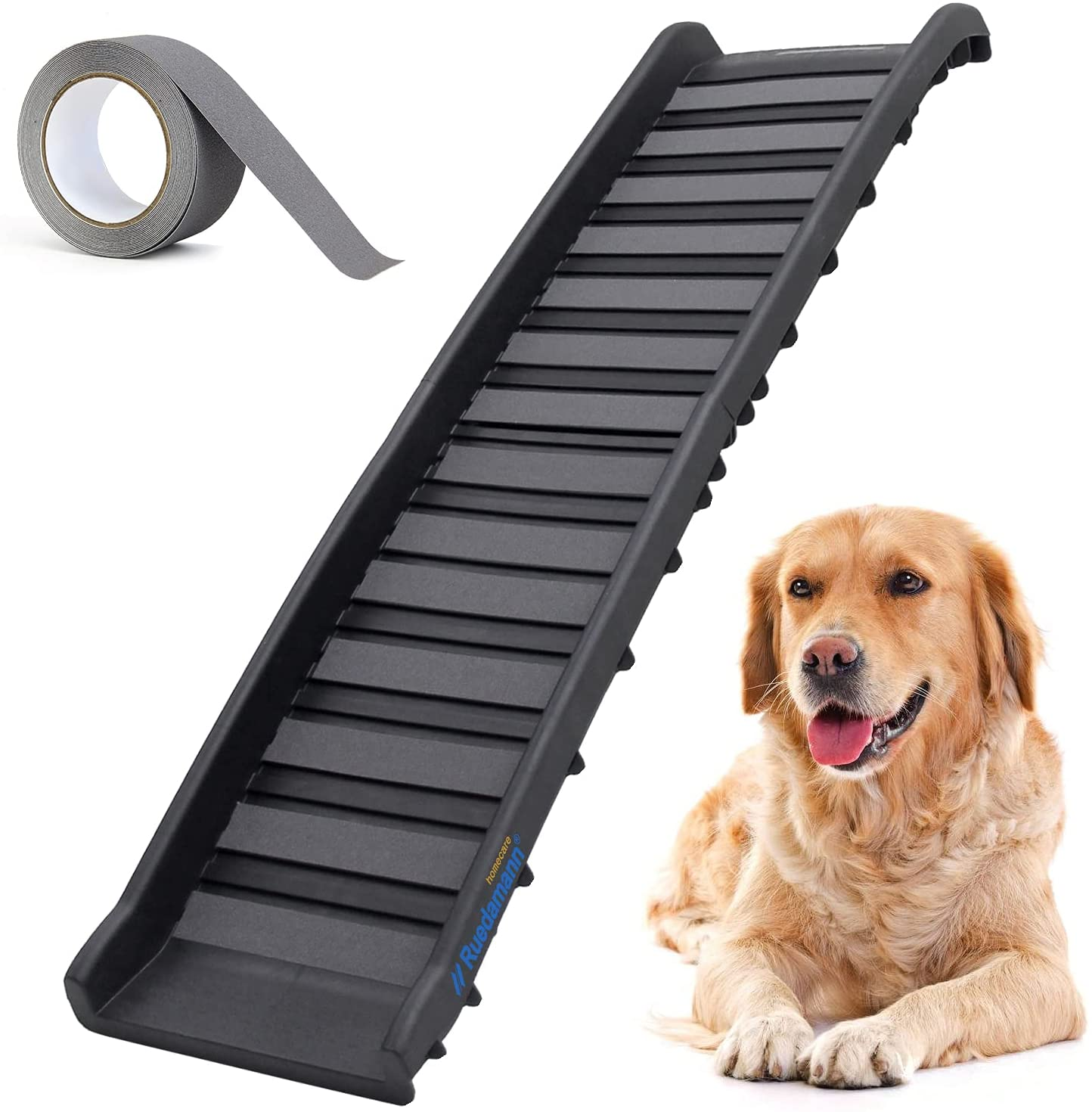Ruedamann Free Shipping New 62 Inches Foldable Time sale Pet Portable Lightweight Foldi Ramp