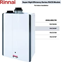 Rinnai RUCS Series SE Tankless Hot Water Heater: Indoor Installation