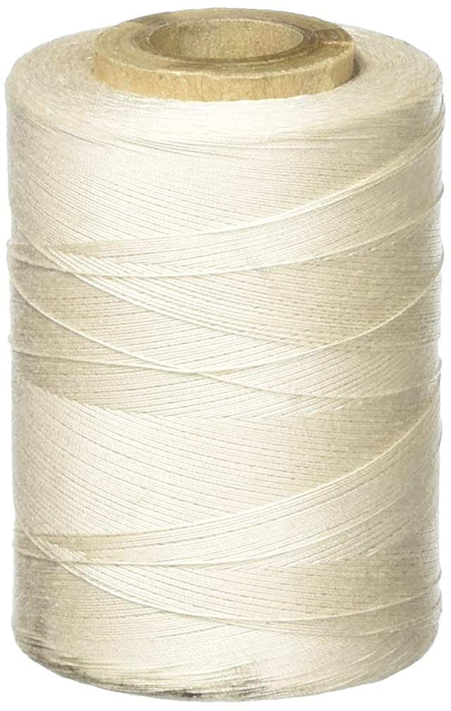 Star Mercerized Cotton Thread Solids 1200 Yards-Natural