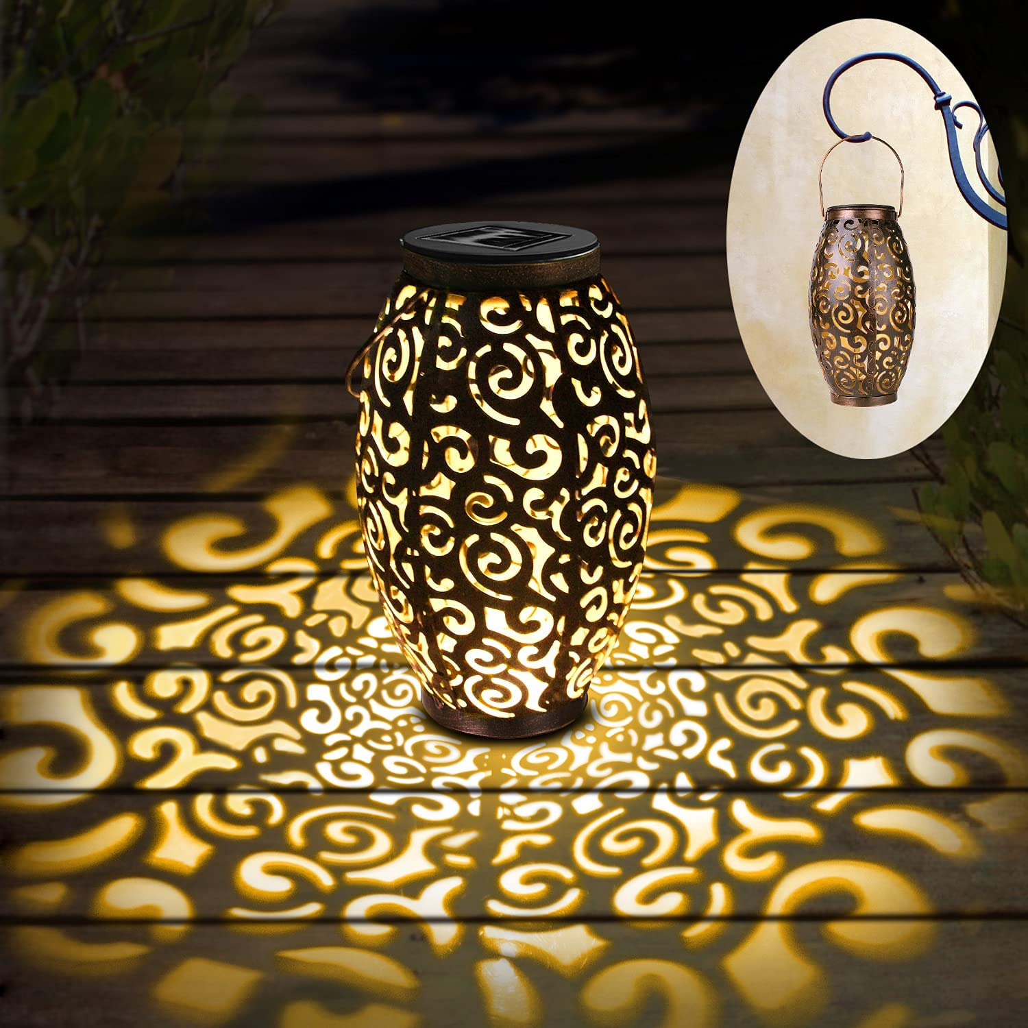 Solar Now free shipping Lights Colorado Springs Mall Outdoor Hanging LED Table Lanterns Ligh