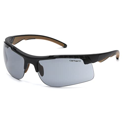 0ec6b841fc Carhartt Rockwood Safety Sunglasses with Gray Anti-fog Lens