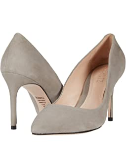 Grey suede pumps + FREE SHIPPING
