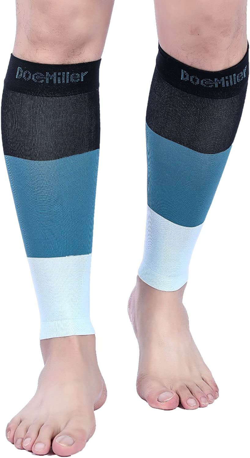 Doc Miller Premium Calf Compression 1 Pair 1520 mmHg Firm Calf